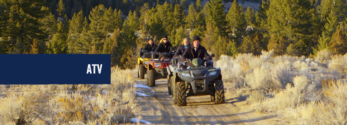 ATVs in Hope County, Montana