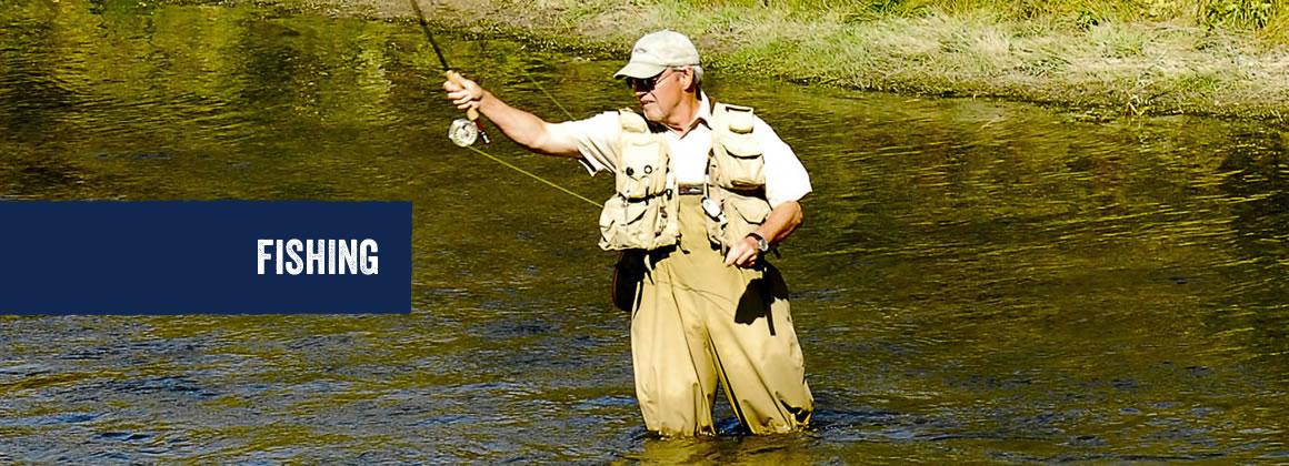 Fishing in Hope County, Montana