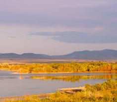 Photo of Canyon Ferry Reservoir in Southwest Montana