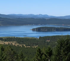 Photo of Georgetown Lake in Southwest Montana
