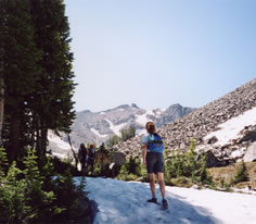 Photo of Lost Cabin Lake Trail in Southwest Montana