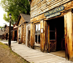 Photo of Virginia City in Southwest Montana