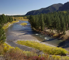 Photo of the Blackfoot River in Southwest Montana