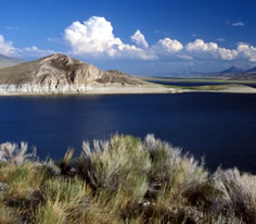 Photo of Clark Canyon Reservoir in Southwest Montana